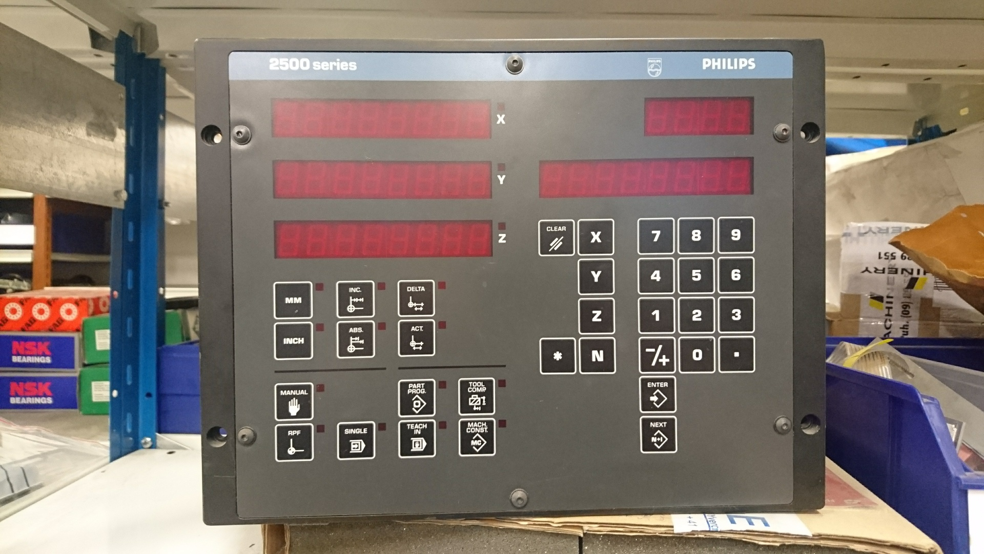 Philips PE 2503 NC-controller Image