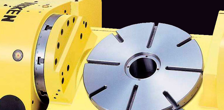 Nikken cutting and rotary table